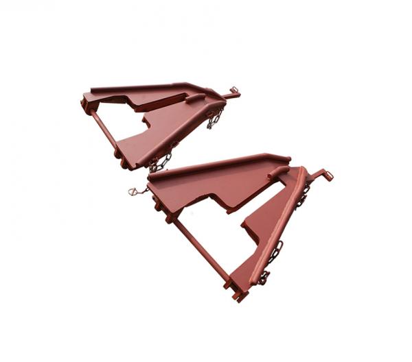 Накаточный башмак Лягушка (стальной, сварной)