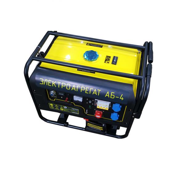 Путевой электроагрегат АБ-4 с бензиновым двигателем 4 кВт