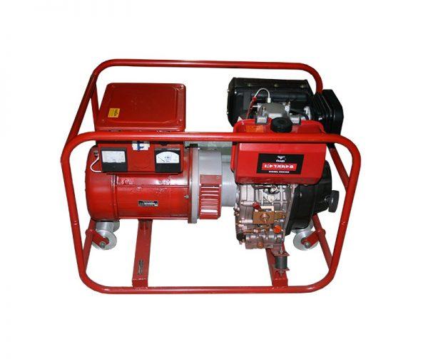 Путевой электроагрегат АД-4, железнодорожный дизельный