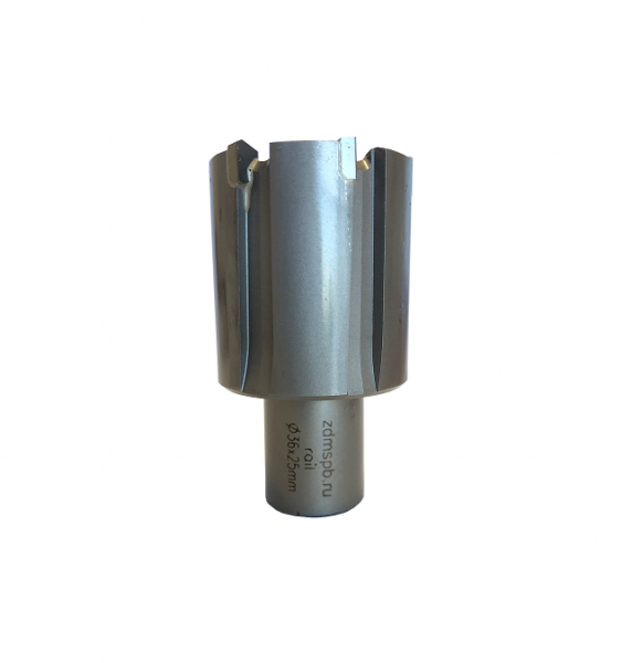 Сверло для рельс корончатое с хвостовиком Weldon D36